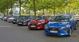 Hyundai Officially Launches IONIQ Hybrid and Electric Cars