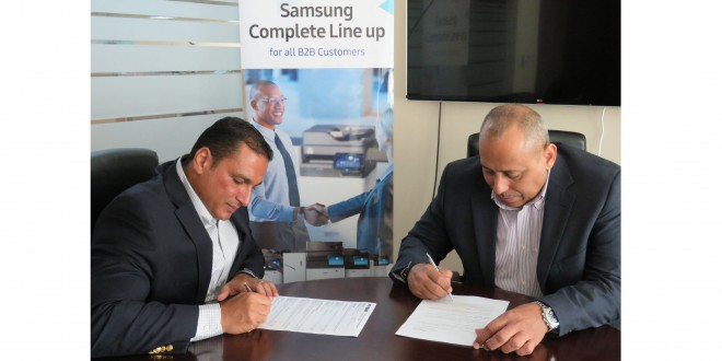 Samsung Signs On Aptec as Official Distributor for Enterprise Printing Solutions