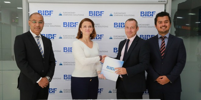 BIBF partners with Euromoney Learning Solutions