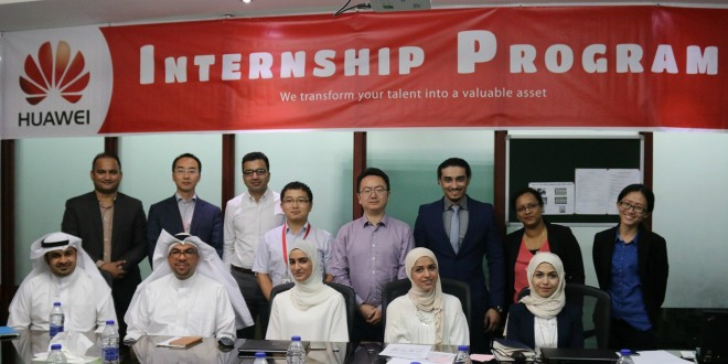 Huawei Bahrain's Internship Program cultivates local talent with professional on-job training