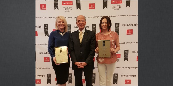 Bahraini Impact group of companies receives two International Property Awards for Africa and Arabia Regions