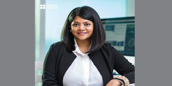 Agrima Jaiswal, A British Council Success Story