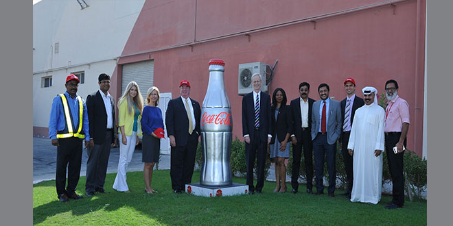 US Ambassador visits Coca-Cola Bottling facility in Bahrain
