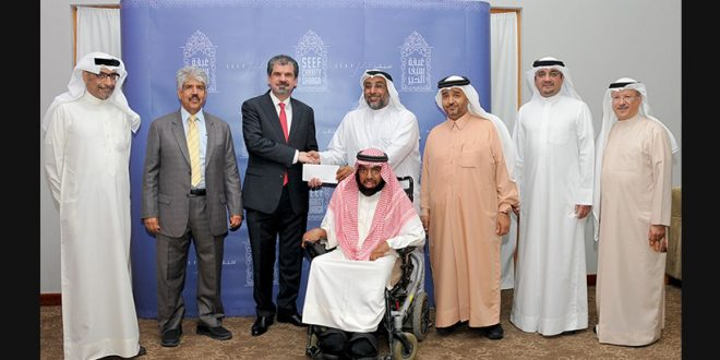 Seef Properties Donates BD5,000 to the Bahrain Mobility International Center