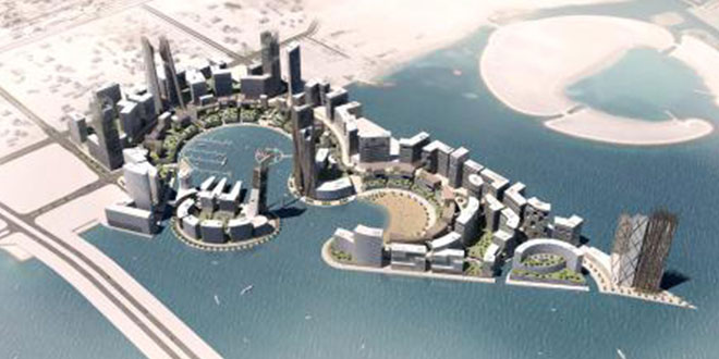 Water Garden City Development Promoted At Gulf Property Show 2018